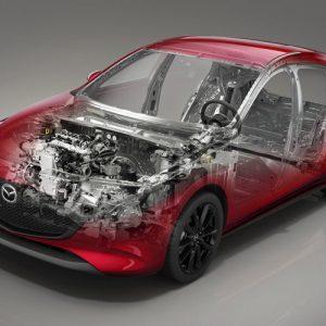 """""""El 70% de las ventas totales de Mazda corresponderán a coches electrificados en 2020"""" Mazda MX-30: el coche eléctrico de Mazda se desmarca de la competencia Mazda MX-30, un SUV eléctrico con 210 km de autonomía y extensor de rango SKyactiv-x de Mazda, tecnología 'trans' para alcanzar los objetivos de CO2"""