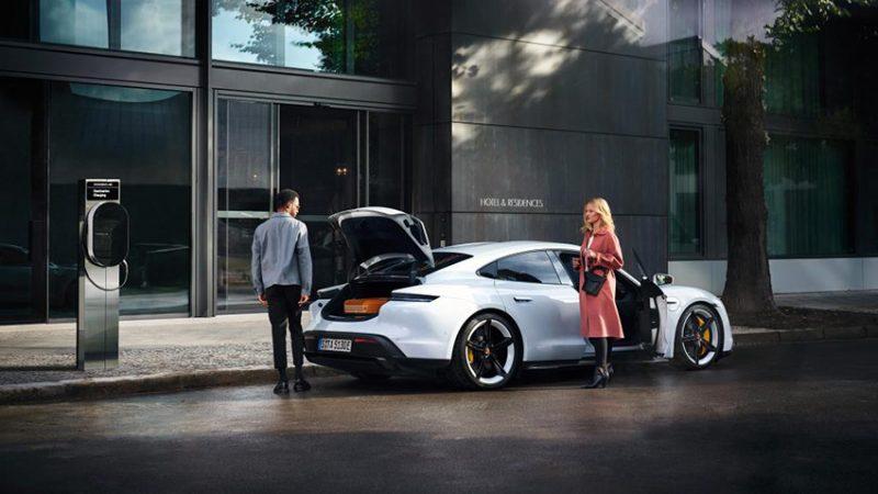 Porsche Destination Charging, la red global para recargar, de forma gratuita, el Taycan o un Porsche PHEV