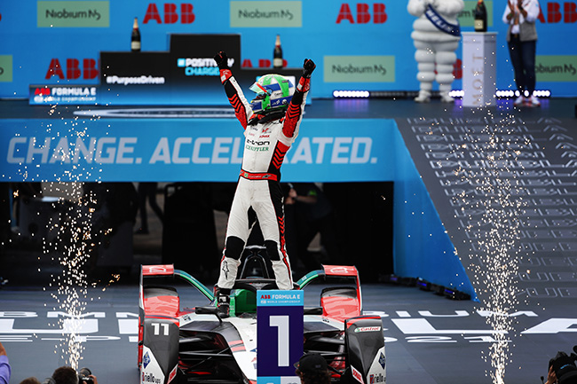 Lucas Di Grassi (BRA), Audi Sport ABT Schaeffler, vencedor de la 8ª carrera de la Fórmula E en México.