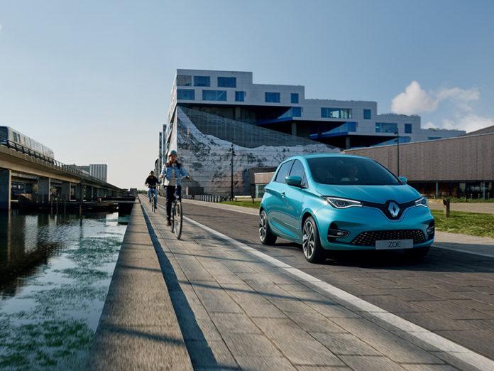 El comportamiento del Renault ZOE en junio sigue la buena tendencia establecida anteriormente.