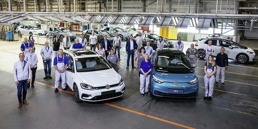 Planta de Zwickau, en Sajonia, de Volkswagen Group.